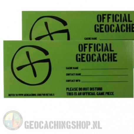 Cache Sticker   Small - 4,5 x 10 cm