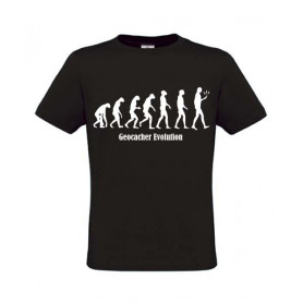 Evolution, T-Shirt (zwart)