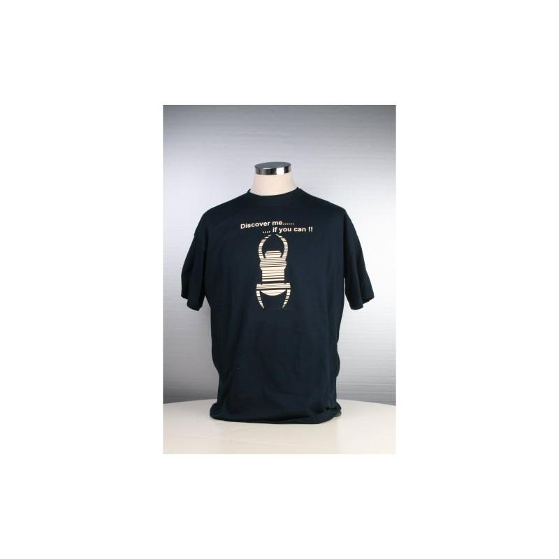 Travel Shirt - Kindermaat 122/128 - blauw