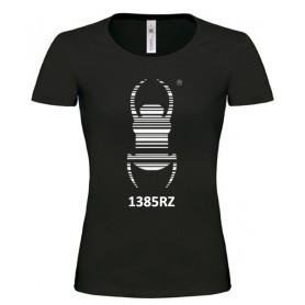 Travel Bug® - Vrouwen Shirt (zwart)