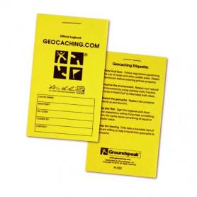 Groundspeak Geocaching Logbuch, klein