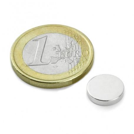 5 Stück 10 mm Runde x 2 mm Neodym Magnete