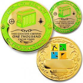 Finds -  1000 Finds Geo-Achievement ® set