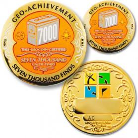 Finds -  7000 Finds Geo-Achievement ® set