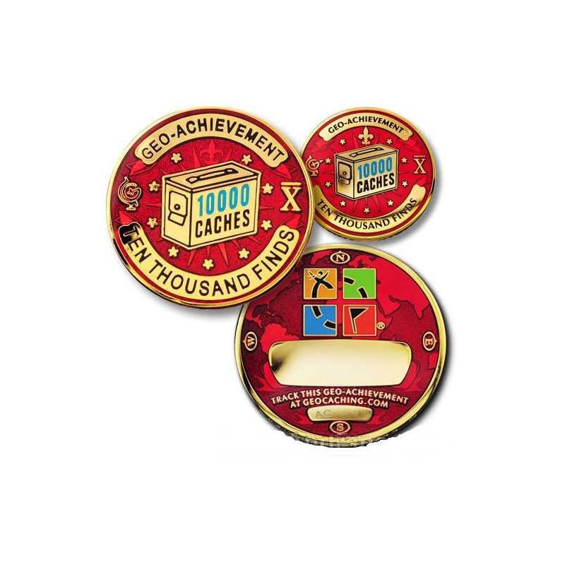 Finds - 10.000 Finds Geo-Achievement ® set