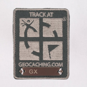 Trackable Patch Dark Gray