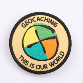 Patch - Geocaching: This is our World