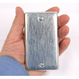 Magnetic Electrical Plate Geocache