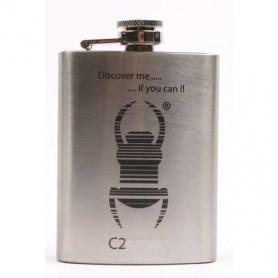 Hip flask Travelbug