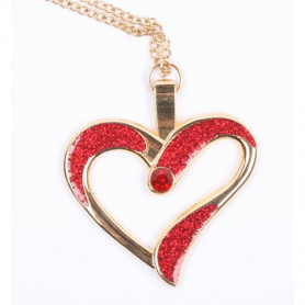 Eternal Love Geocoin - a Gift of Love edition - Gold/Red