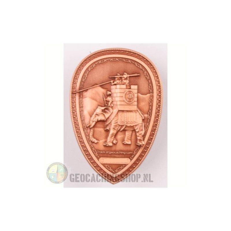 Hannibal Geocoin LE - Antique copper