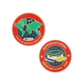 International Geocaching day 2016 Micro-Geocoin