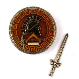 Spartan Geocoin - Leonidas RE