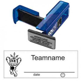 Log stamp - Signal the Frog - 14 x 38 mm