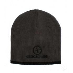 Geocaching  Knit Beanie - grey