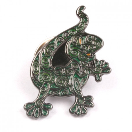 Gecko Pin - Green Crawler