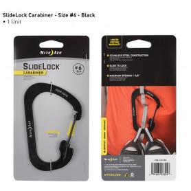 SlideLock Carabiner maat 6