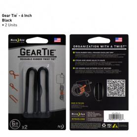 Gear Tie 15,2 cm 2-pack