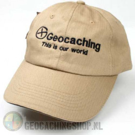 Hat, Geocaching this is our world, khaki