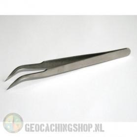 Tweezers, curved 11,5 cm