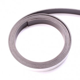 Magneet band 10 mm breed, 1 mtr
