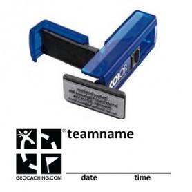 Log Stamp - Pocket - Groundspeak logo