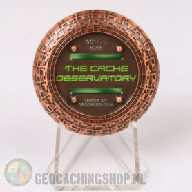 Cache Observatory - antique copper LE50