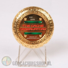 Cache Observatory - polished goud LE50