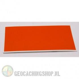 Reflector Foil 100 mm x 50 mm Orange