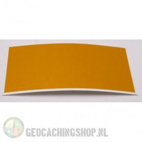 Reflector Foil 100 mm x 50 mm Yellow