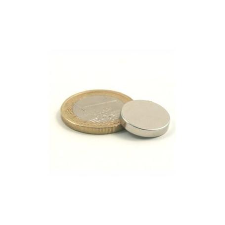 5 pieces 15 mm Round x 3 mm Neodym Magnets
