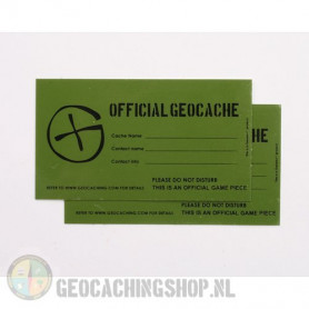 Cache Sticker   X-Small - 4,2 x 7,5 cm
