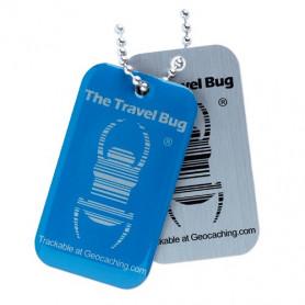 QR Travel Bug® - Blue