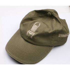Travel Cap - green with khaki