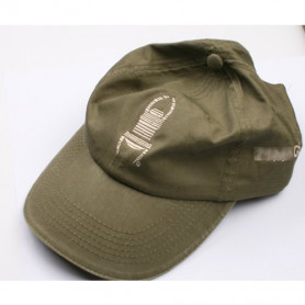 Travel Cap - groen met khaki