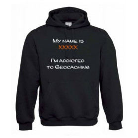 """Hoody """"Addicted to ..."""" with Teamname"""