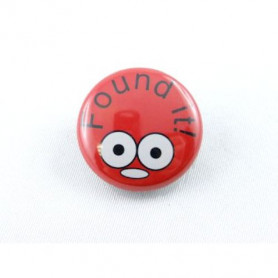 Button - Found It - Rood