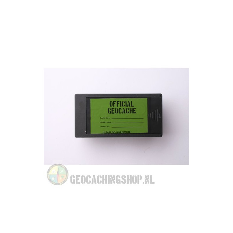 Magnetische rechthoekige Geocache Container - 10 x 5