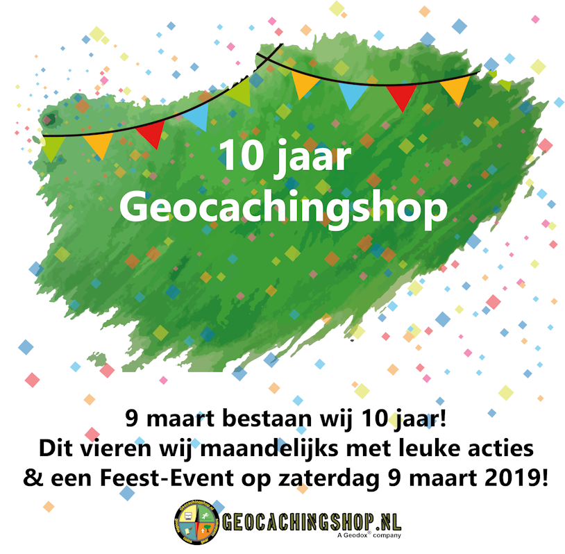 10 Jaar Geocachingshop