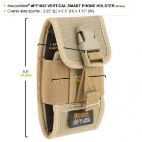 Maxpedition Vertical Smart Phone Holster - groen