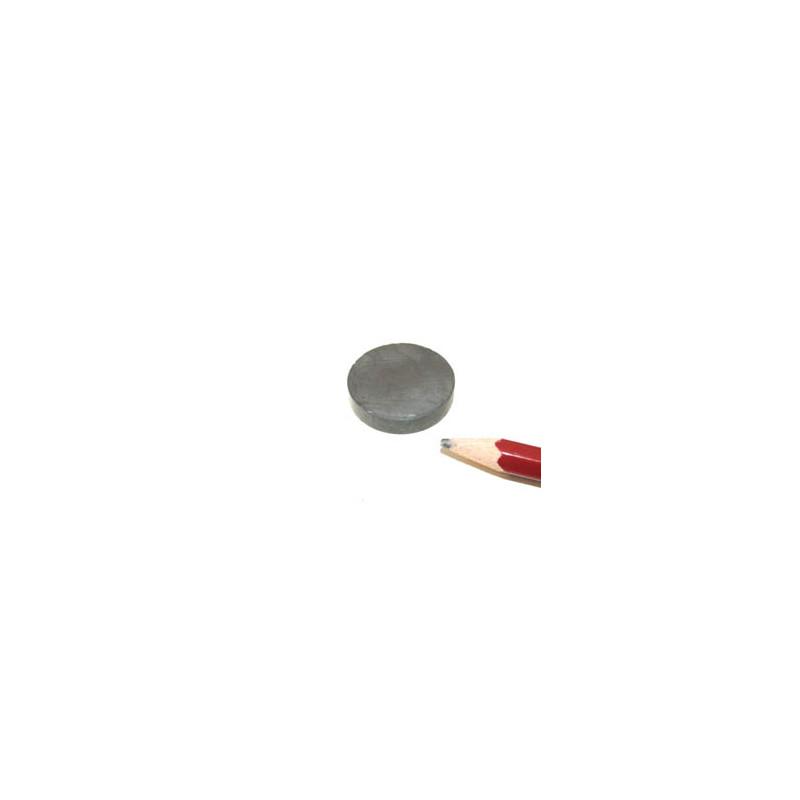 Scheibenmagnet, 25 x 5 mm - 5 stück