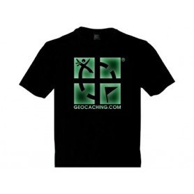 Groundspeak Logo, T-Shirt (fluoriserend)