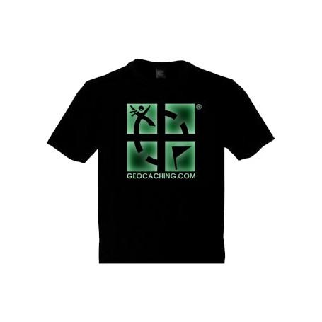 Groundspeak Logo, T-Shirt (fluoreszierend)