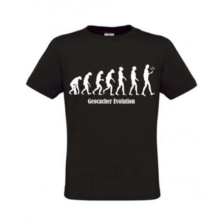 Evolution, T-Shirt (zwart)