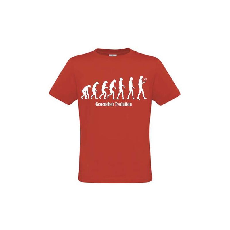 Evolution, T-Shirt (red)