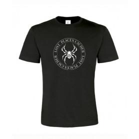 Lost Places Spider, T-Shirt (schwarz/weiss)
