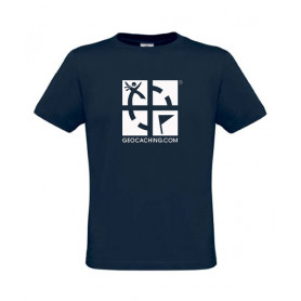 Groundspeak Logo, T-Shirt (blue)