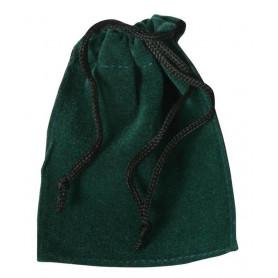 Edler Samtbeutel (grün)