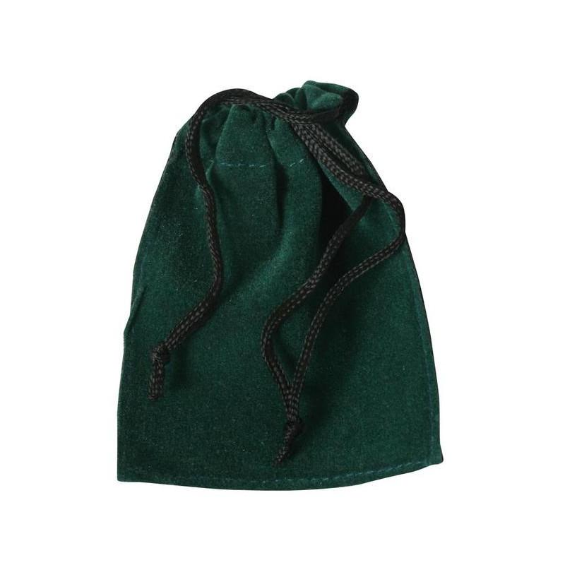 Fluwelen zakje (groen)