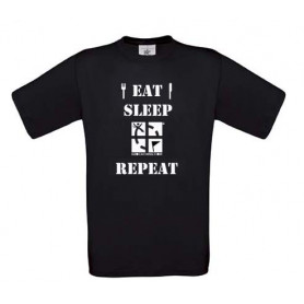 Eat Sleep Repeat T-Shirt